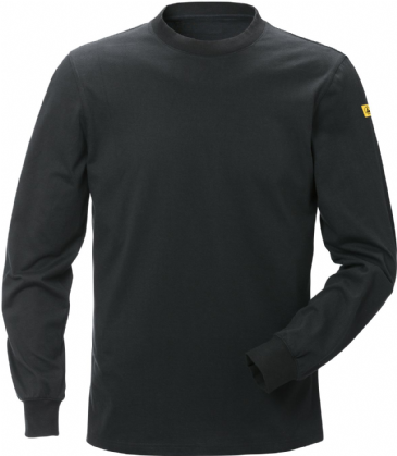 Fristads ESD Long Sleeve T-Shirt 7082 XTM (Black)